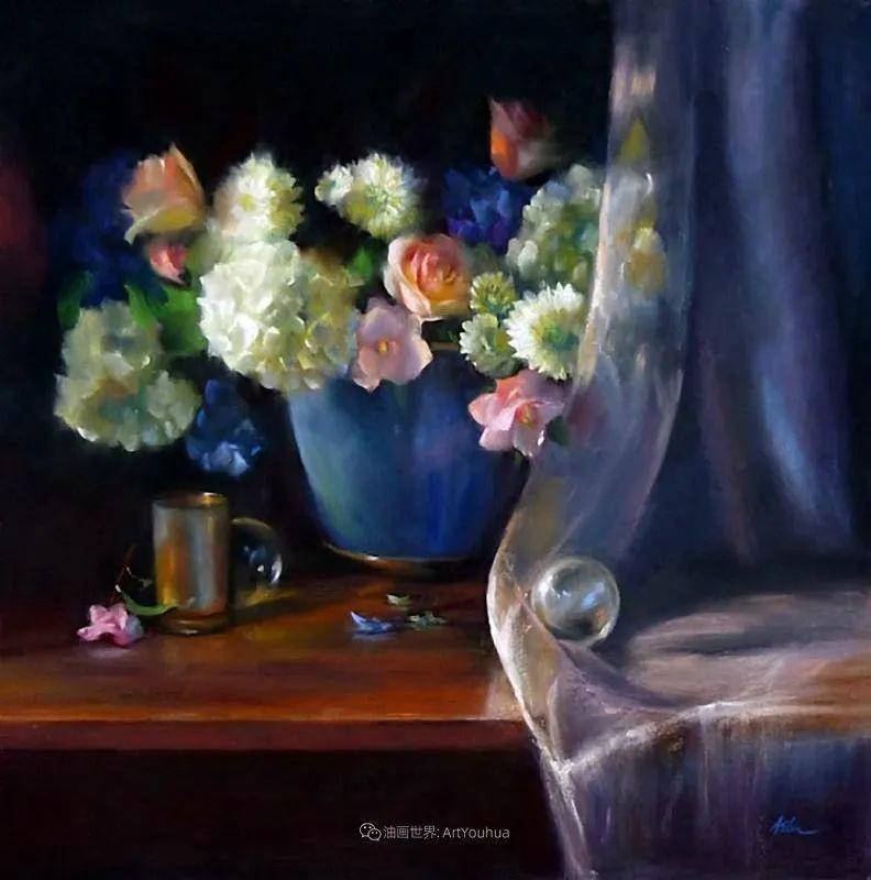 美妙的光影变化,粉彩花卉!插图32