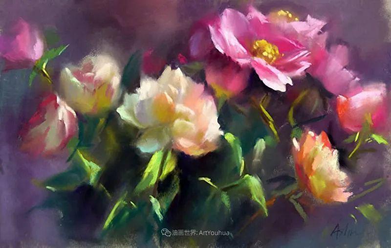 美妙的光影变化,粉彩花卉!插图33