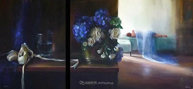 美妙的光影变化,粉彩花卉!插图34