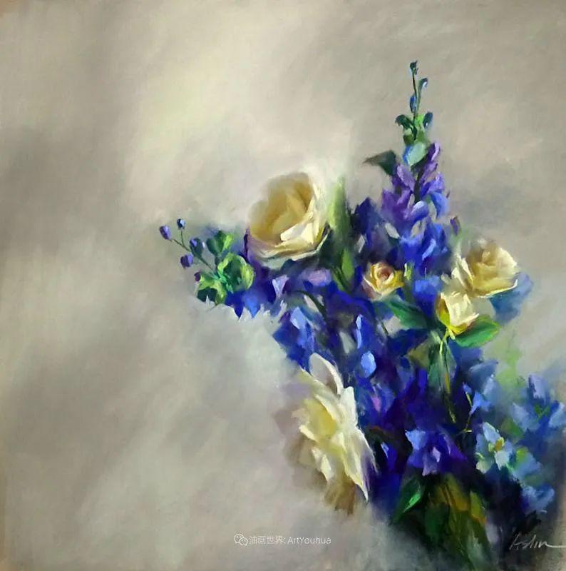 美妙的光影变化,粉彩花卉!插图35