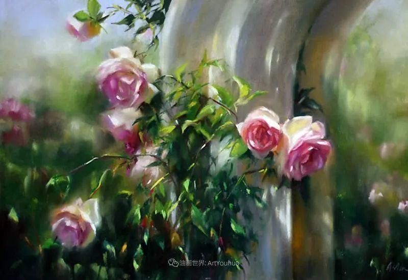 美妙的光影变化,粉彩花卉!插图36