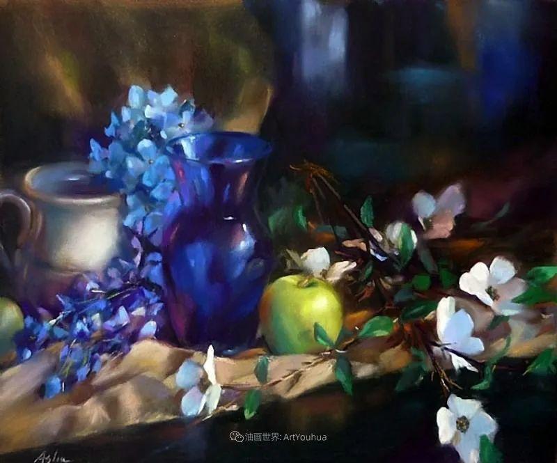 美妙的光影变化,粉彩花卉!插图37