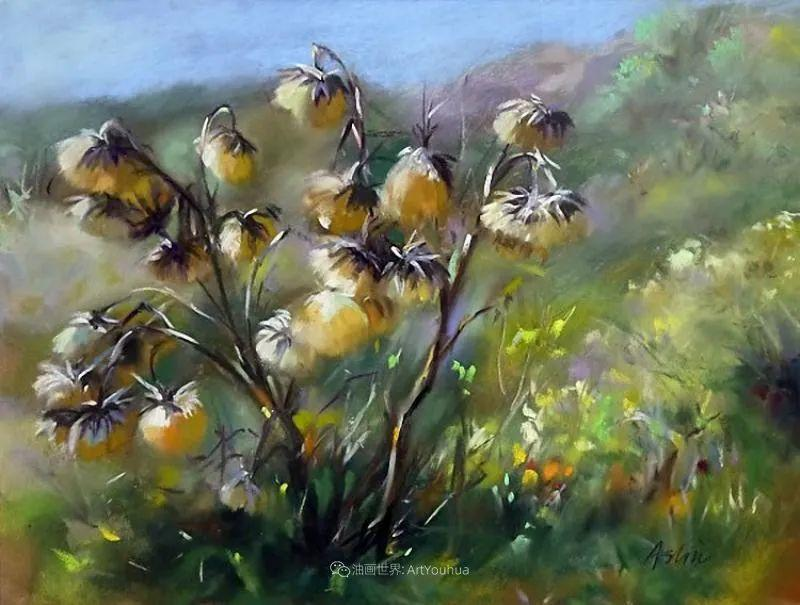 美妙的光影变化,粉彩花卉!插图38
