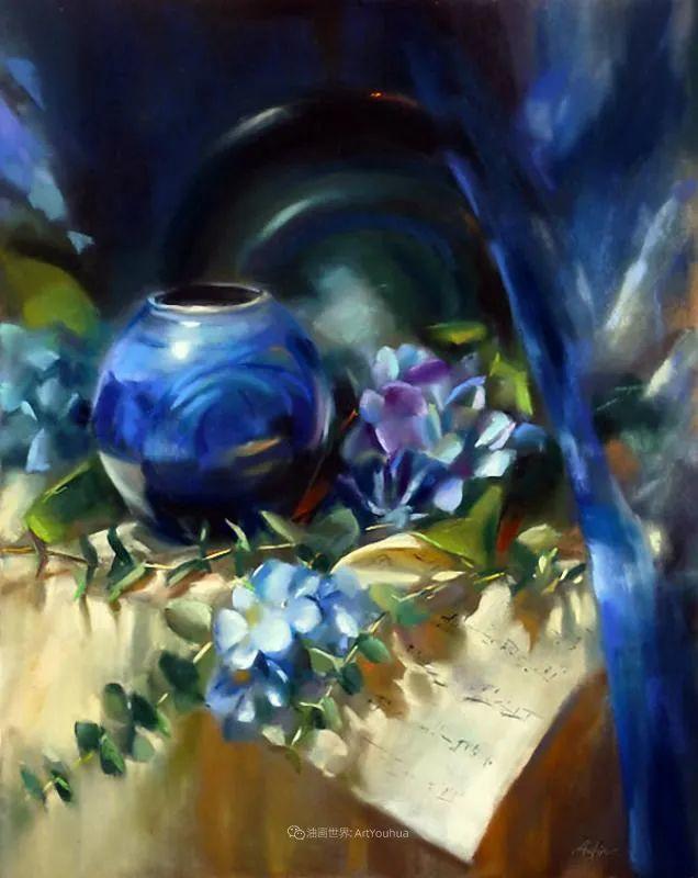 美妙的光影变化,粉彩花卉!插图40