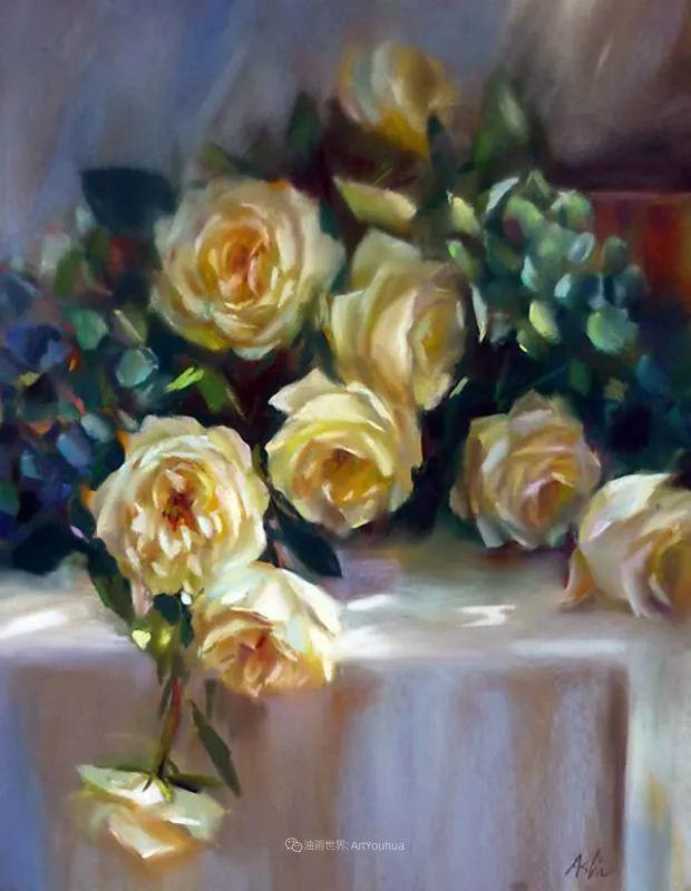 美妙的光影变化,粉彩花卉!插图41