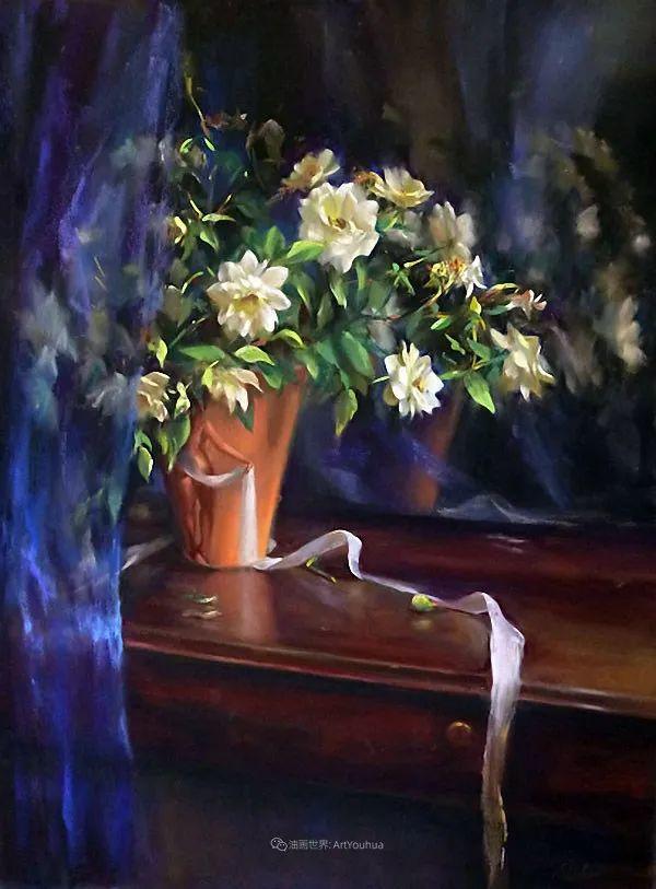 美妙的光影变化,粉彩花卉!插图42