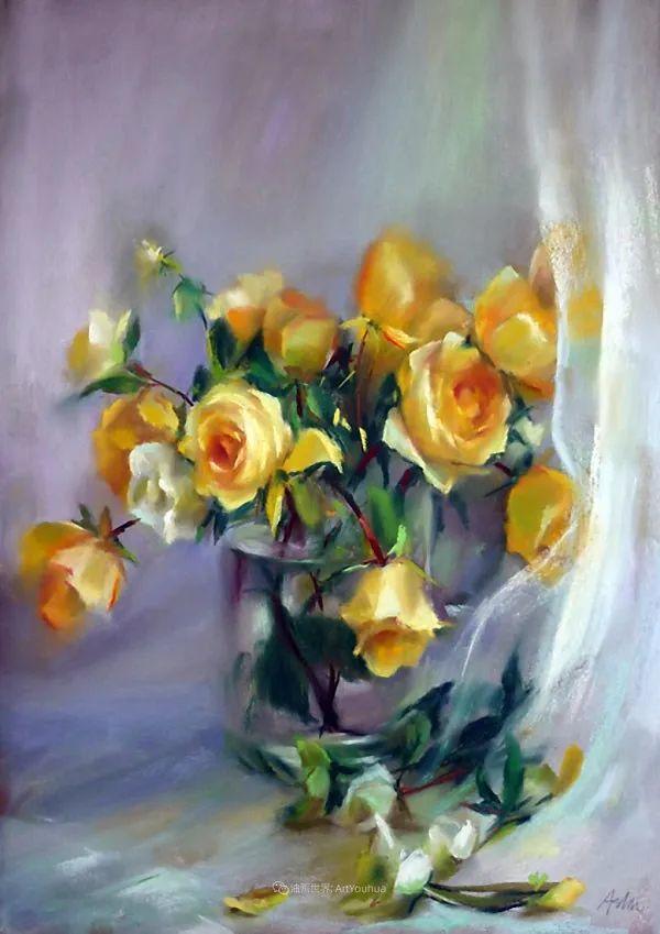 美妙的光影变化,粉彩花卉!插图43