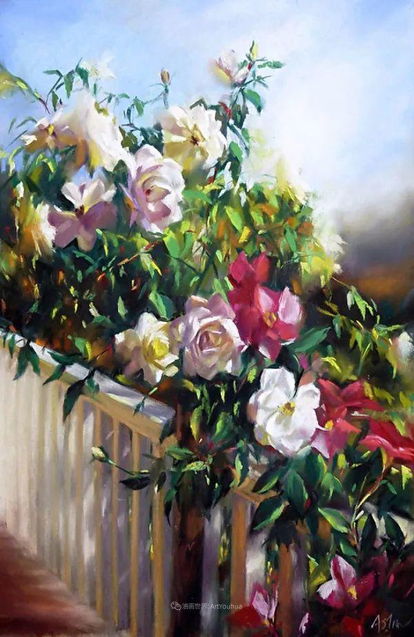 美妙的光影变化,粉彩花卉!插图44