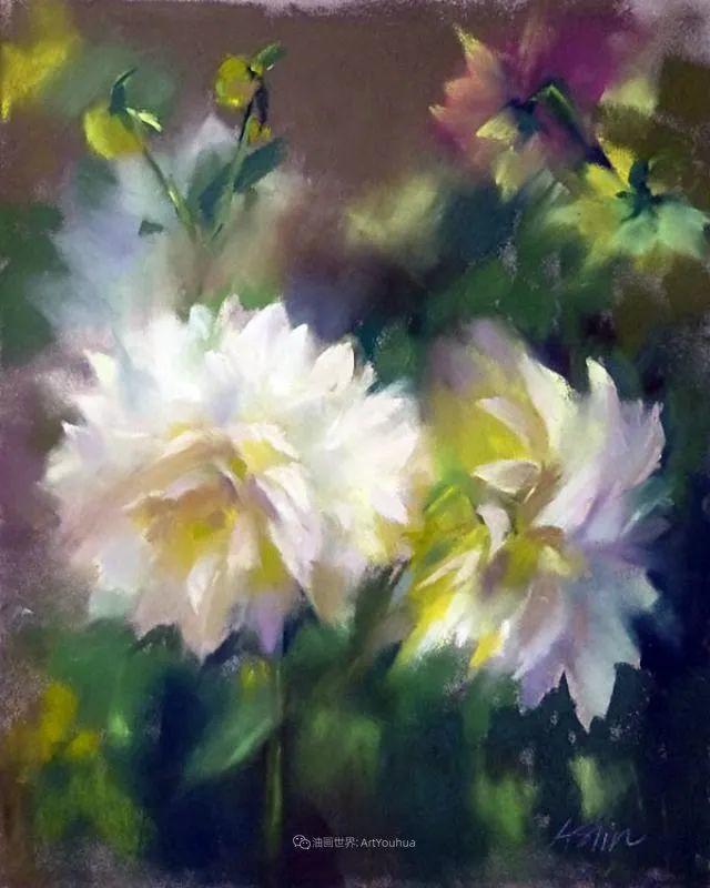 美妙的光影变化,粉彩花卉!插图46