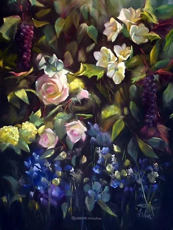 美妙的光影变化,粉彩花卉!插图47