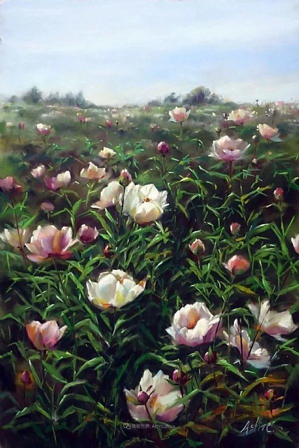 美妙的光影变化,粉彩花卉!插图48