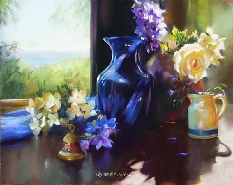 美妙的光影变化,粉彩花卉!插图49