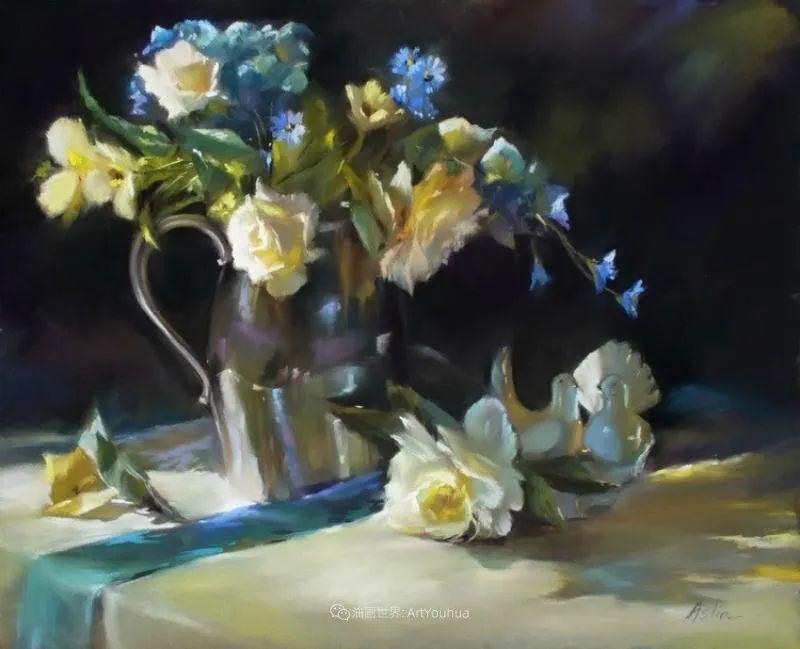 美妙的光影变化,粉彩花卉!插图50