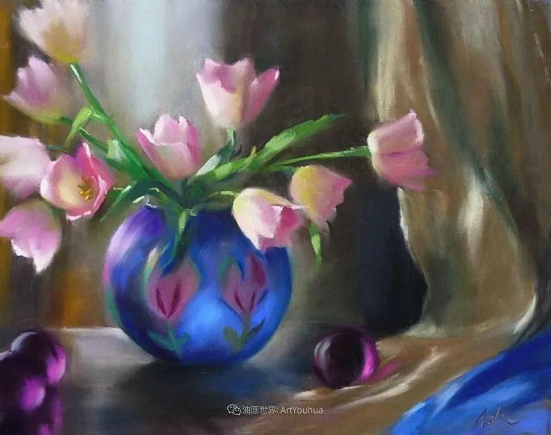 美妙的光影变化,粉彩花卉!插图53
