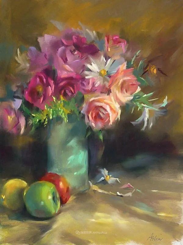 美妙的光影变化,粉彩花卉!插图54