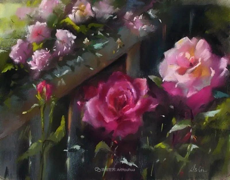 美妙的光影变化,粉彩花卉!插图56