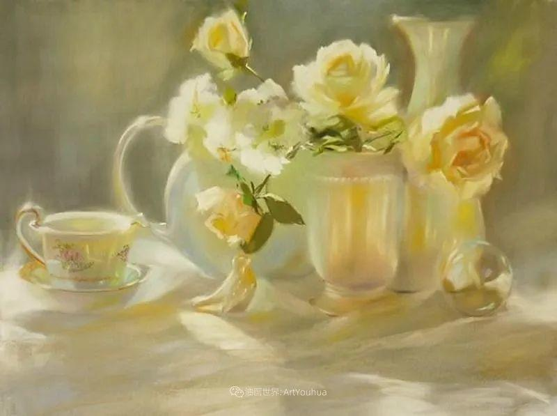 美妙的光影变化,粉彩花卉!插图59