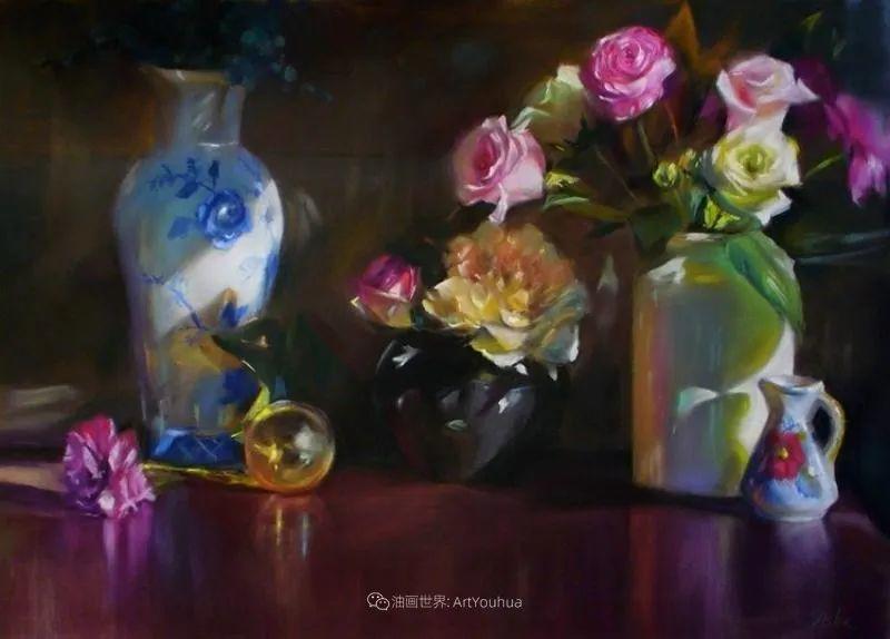 美妙的光影变化,粉彩花卉!插图60