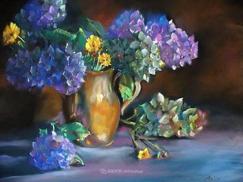美妙的光影变化,粉彩花卉!插图61