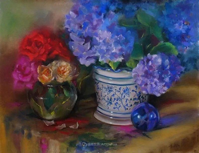 美妙的光影变化,粉彩花卉!插图62