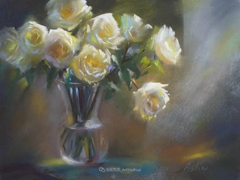 美妙的光影变化,粉彩花卉!插图64