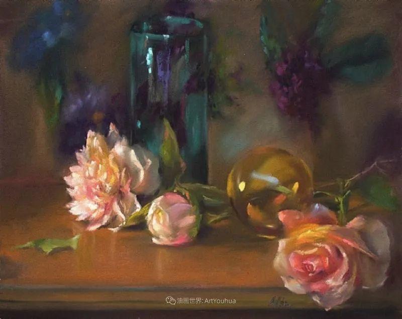 美妙的光影变化,粉彩花卉!插图66