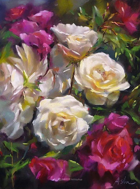 美妙的光影变化,粉彩花卉!插图67