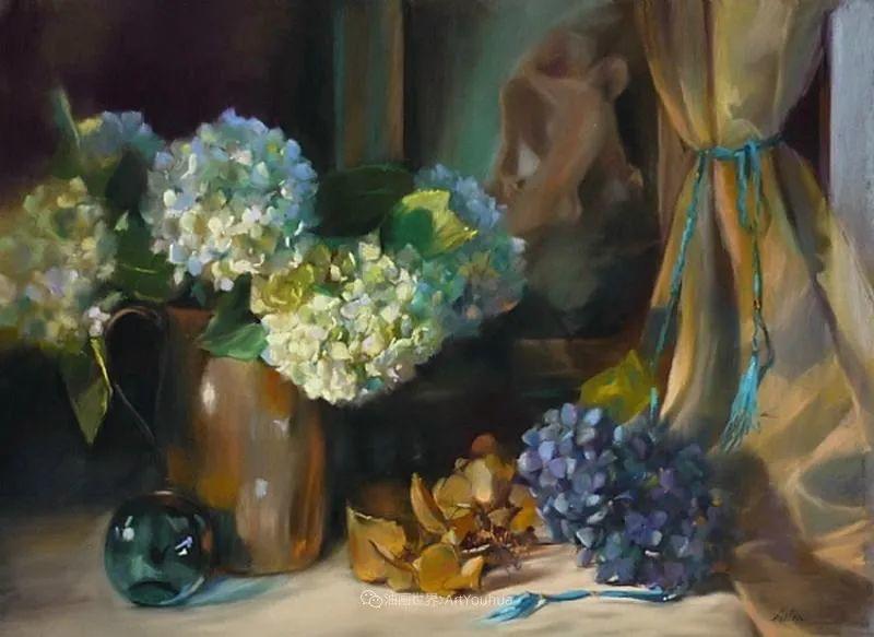 美妙的光影变化,粉彩花卉!插图69