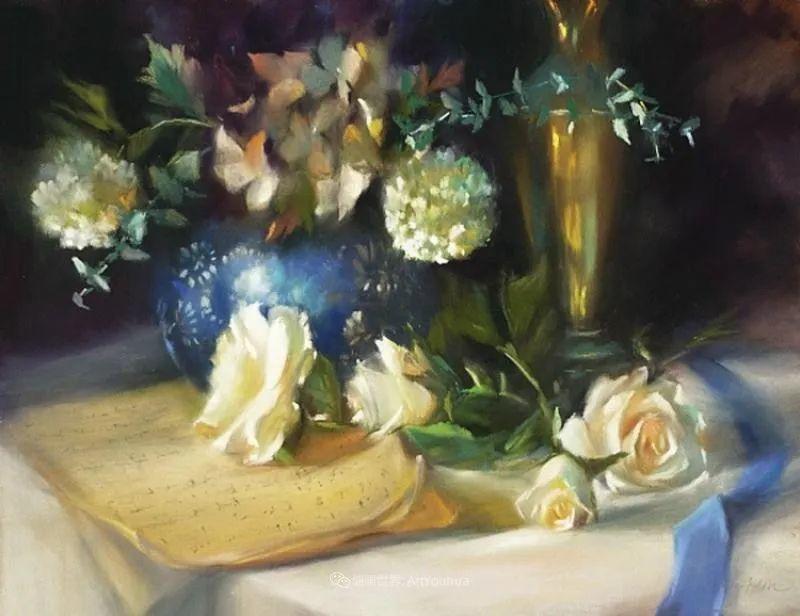 美妙的光影变化,粉彩花卉!插图71