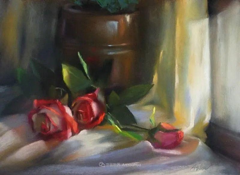 美妙的光影变化,粉彩花卉!插图73