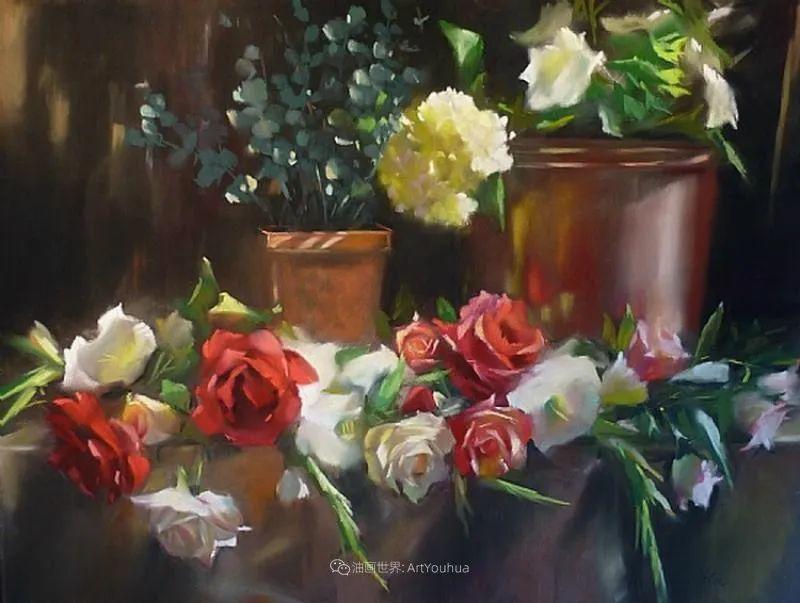 美妙的光影变化,粉彩花卉!插图74