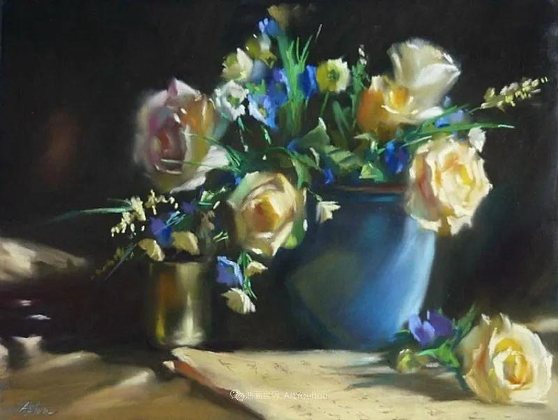 美妙的光影变化,粉彩花卉!插图75