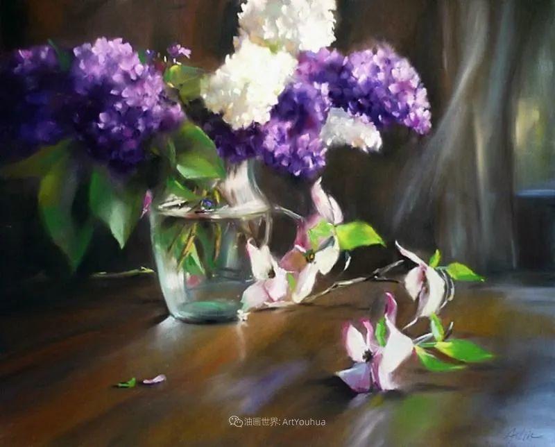 美妙的光影变化,粉彩花卉!插图77