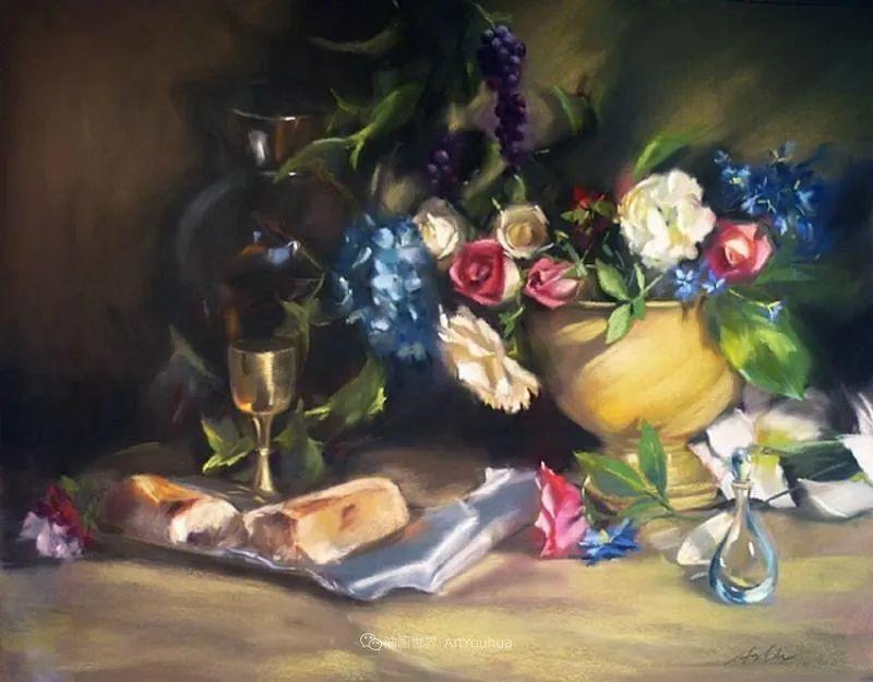 美妙的光影变化,粉彩花卉!插图78