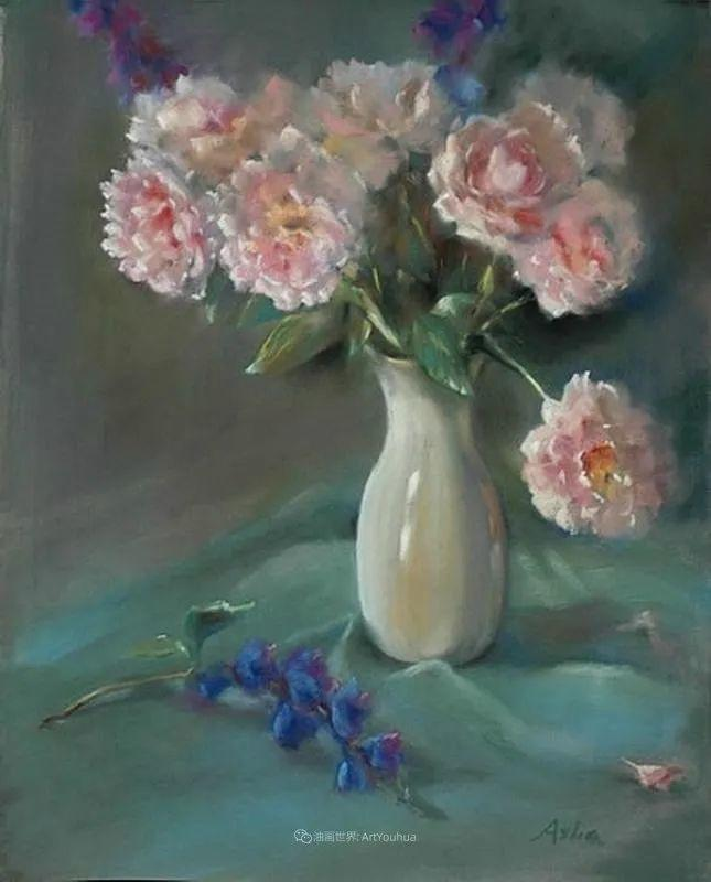 美妙的光影变化,粉彩花卉!插图79