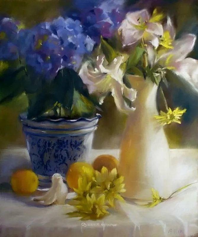 美妙的光影变化,粉彩花卉!插图80