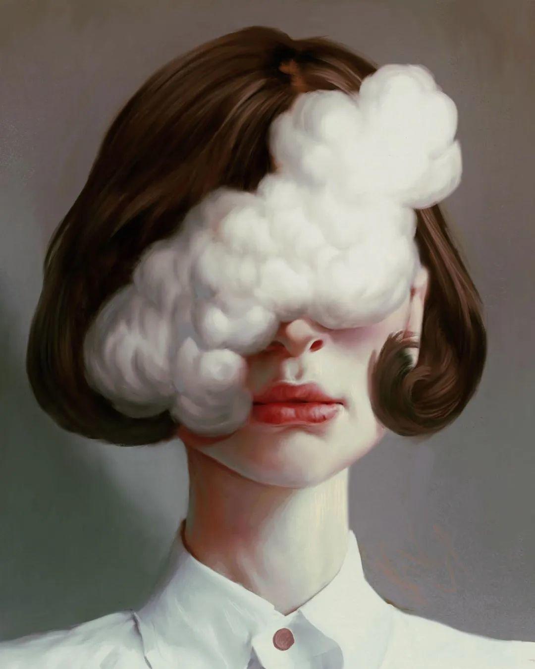 令人惊异的超现实主义肖像画,好有创意!插图1