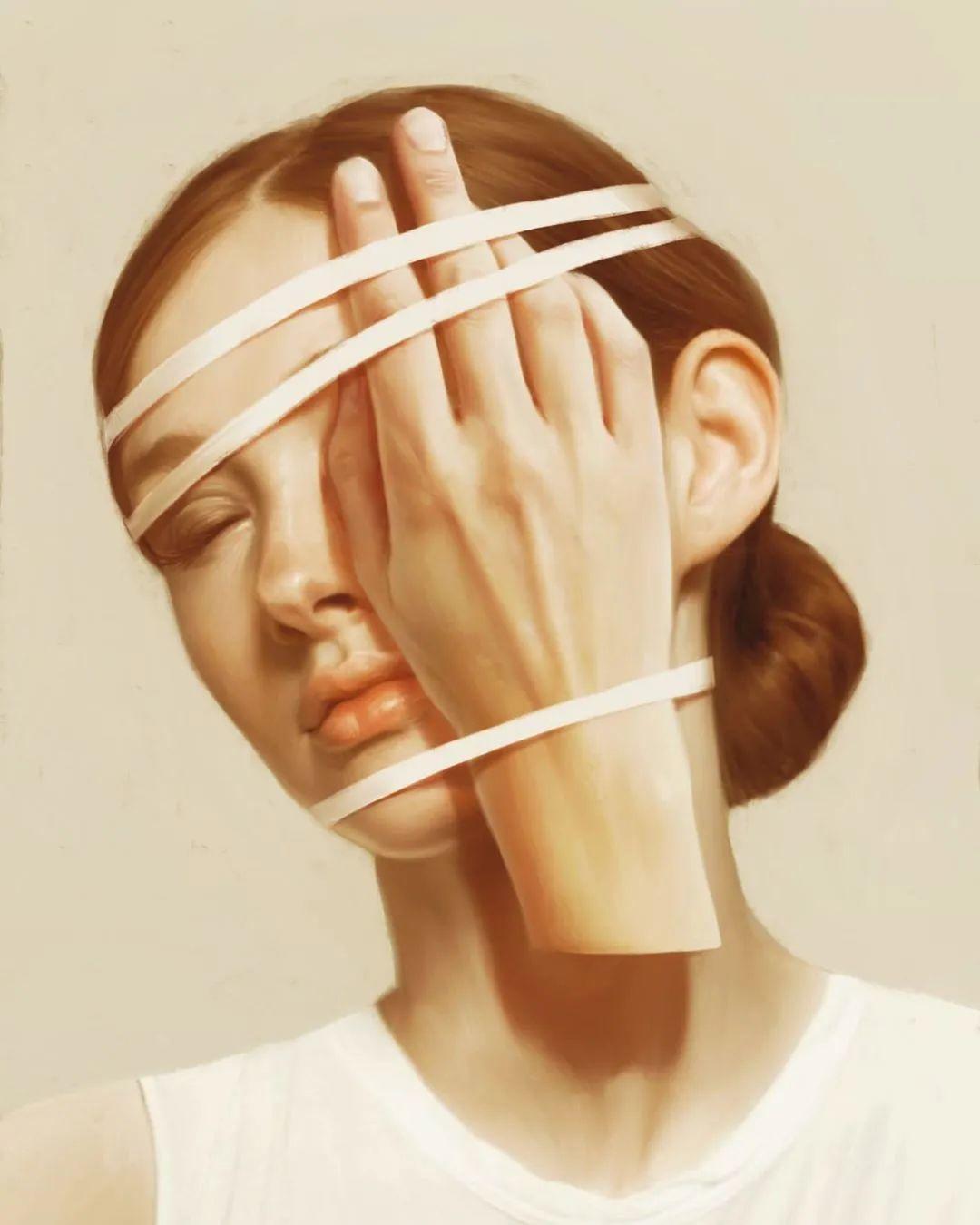令人惊异的超现实主义肖像画,好有创意!插图5