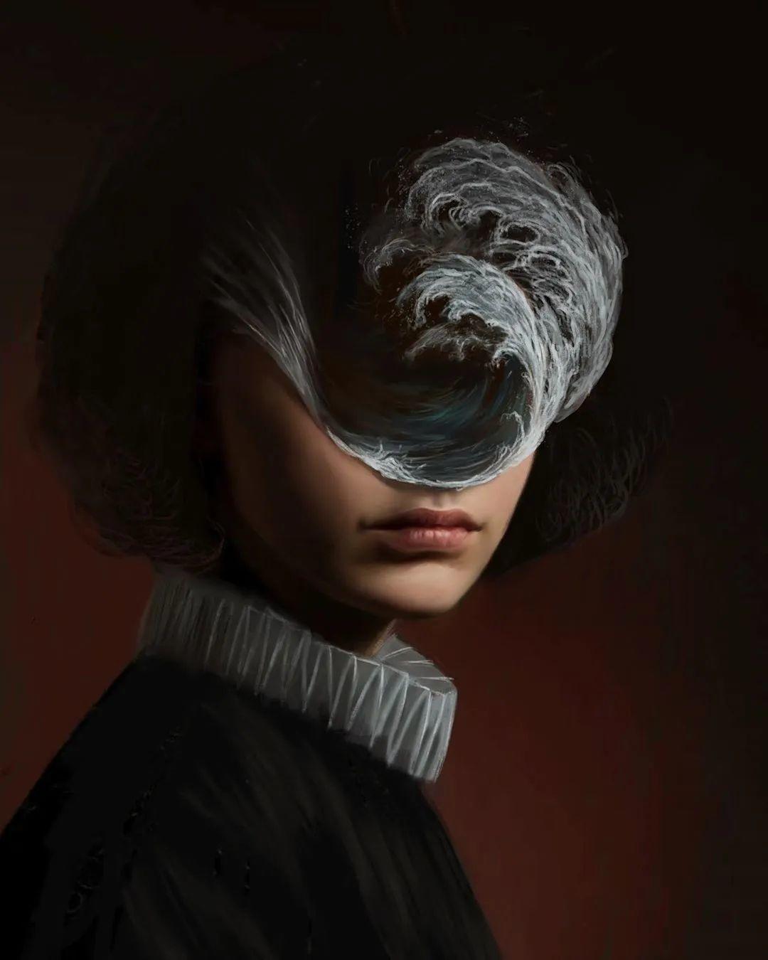 令人惊异的超现实主义肖像画,好有创意!插图13