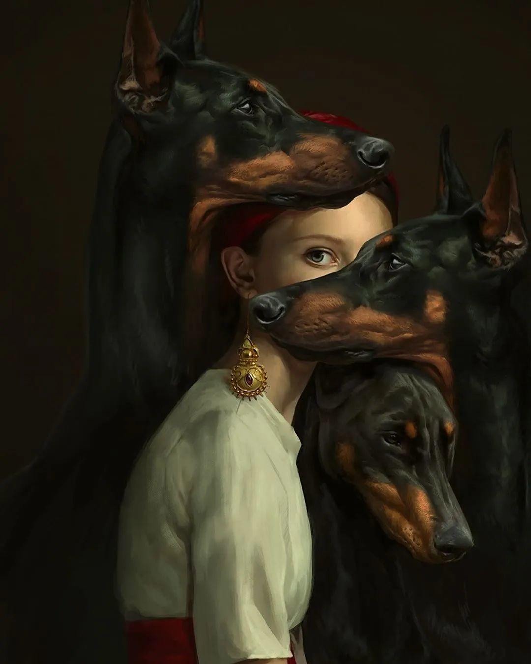 令人惊异的超现实主义肖像画,好有创意!插图15