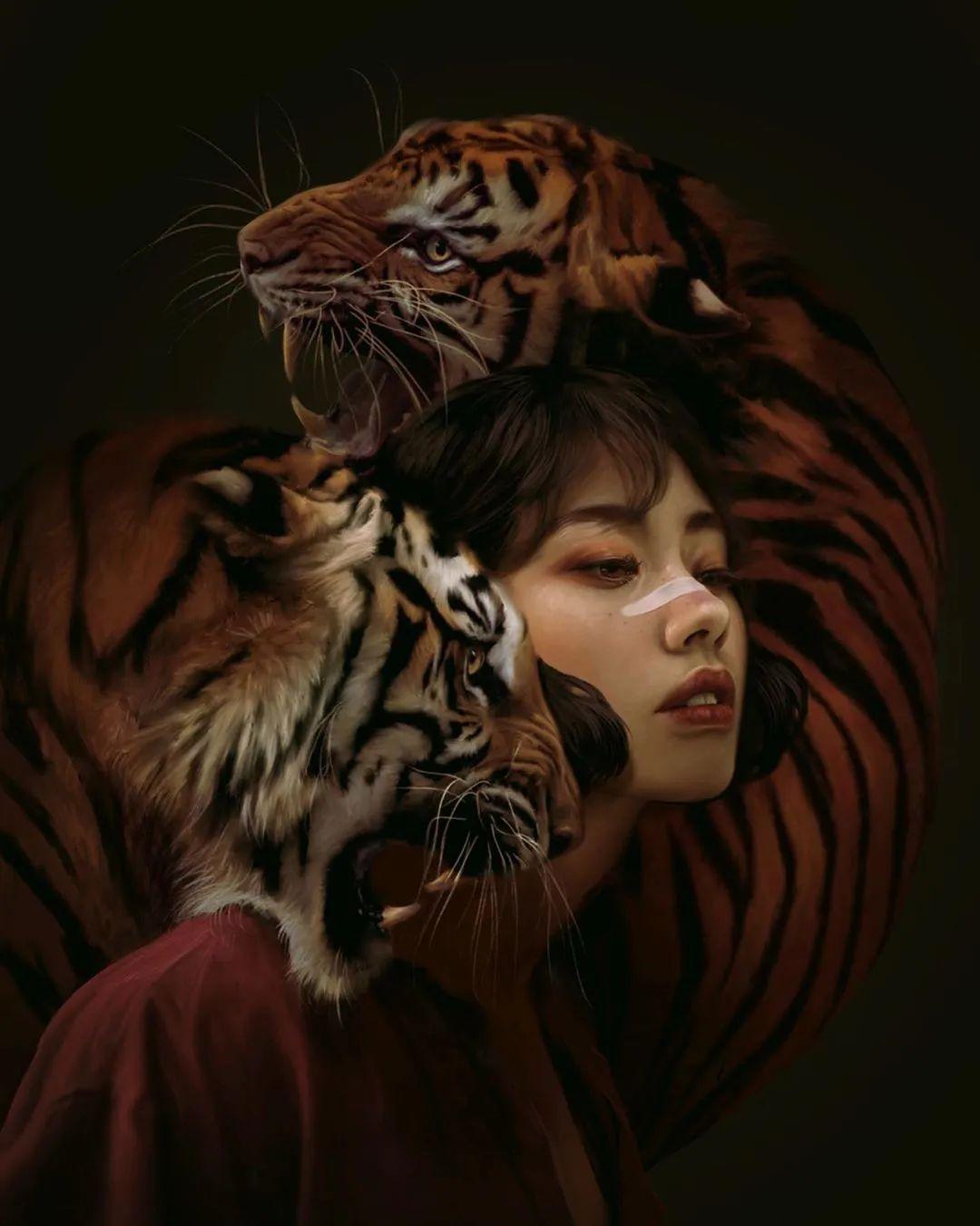令人惊异的超现实主义肖像画,好有创意!插图17