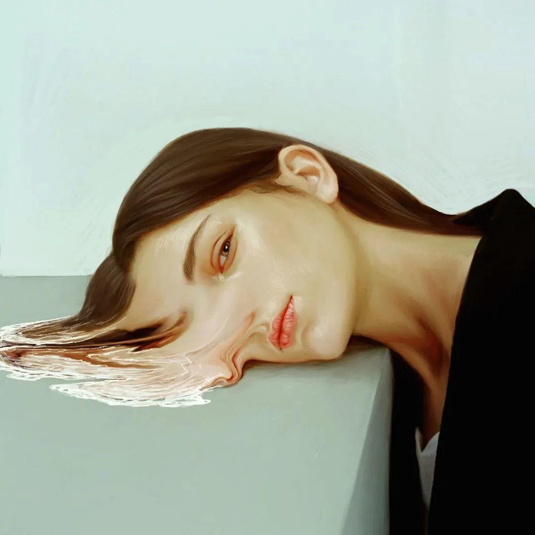 令人惊异的超现实主义肖像画,好有创意!插图19