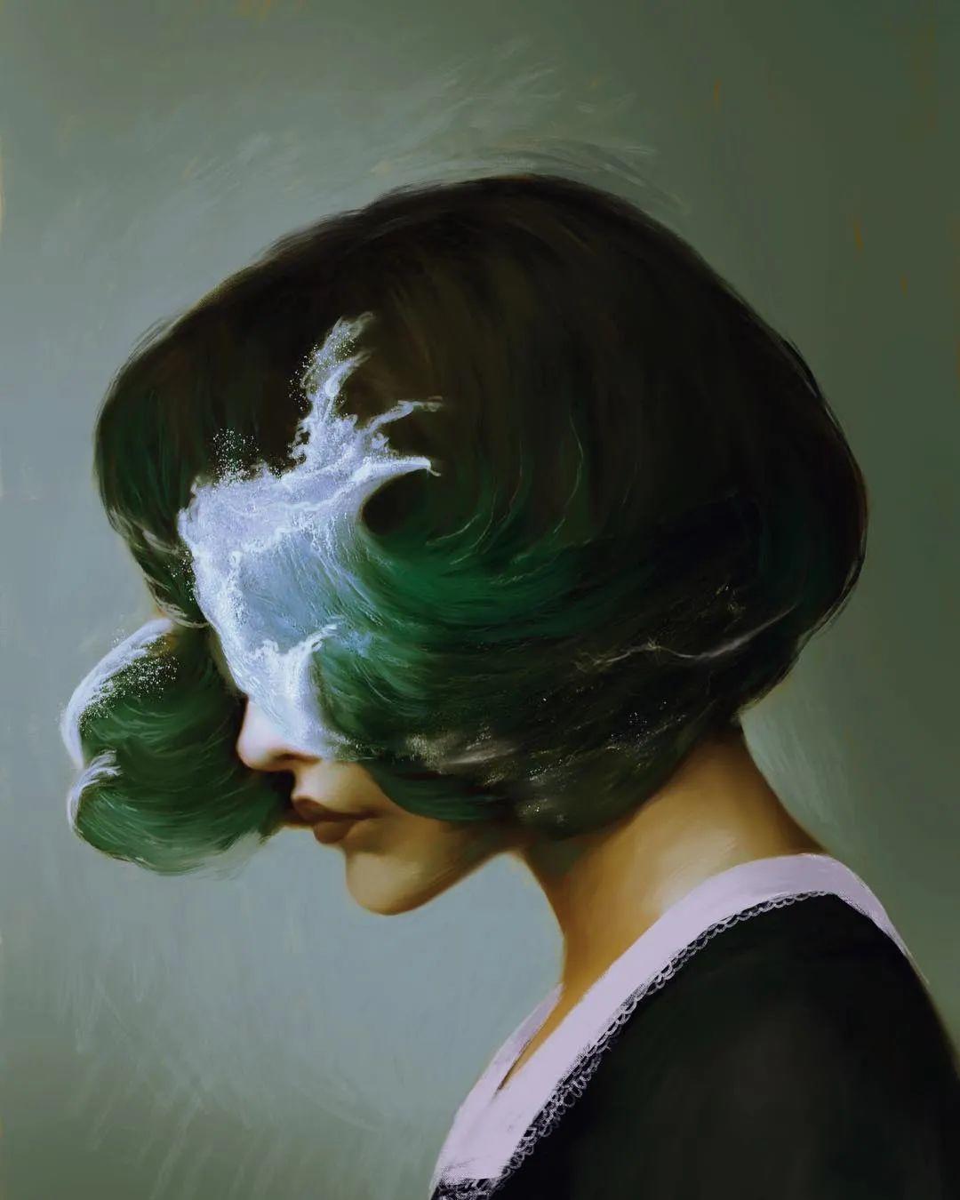 令人惊异的超现实主义肖像画,好有创意!插图31