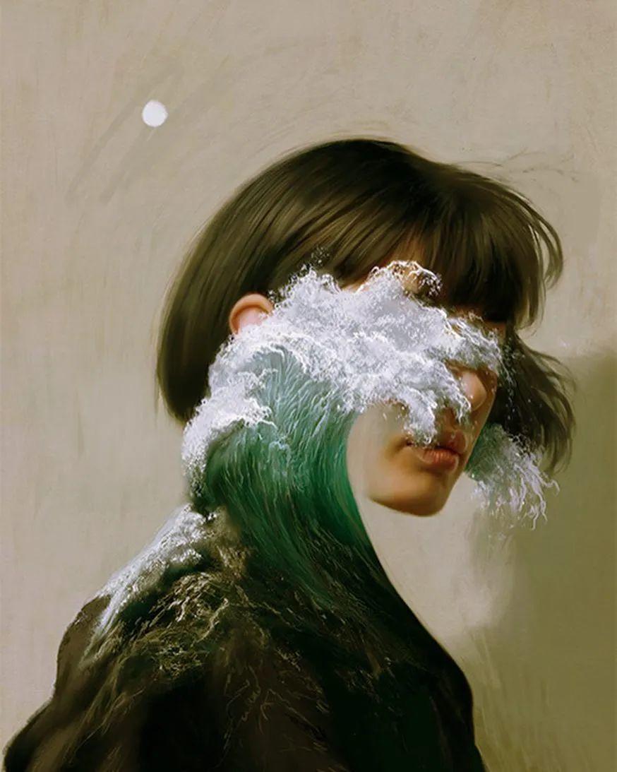 令人惊异的超现实主义肖像画,好有创意!插图33
