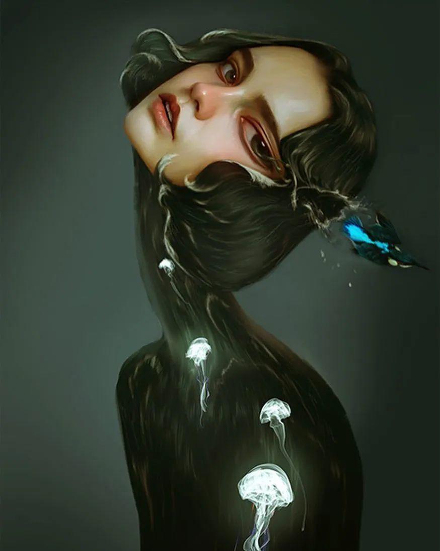 令人惊异的超现实主义肖像画,好有创意!插图37