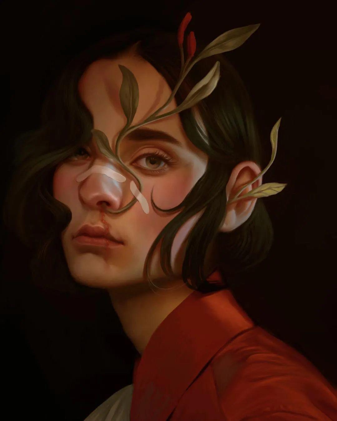 令人惊异的超现实主义肖像画,好有创意!插图39