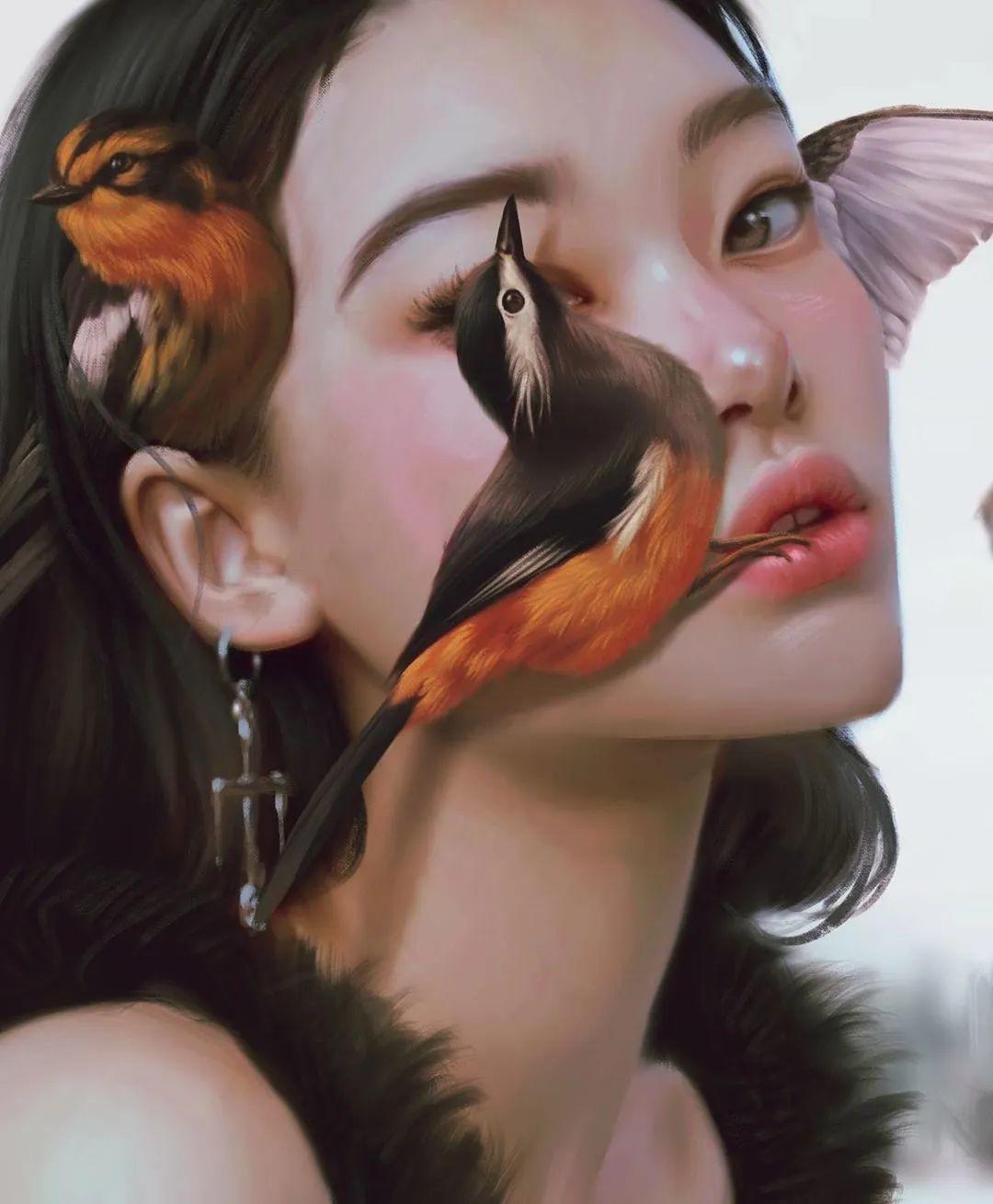 令人惊异的超现实主义肖像画,好有创意!插图41