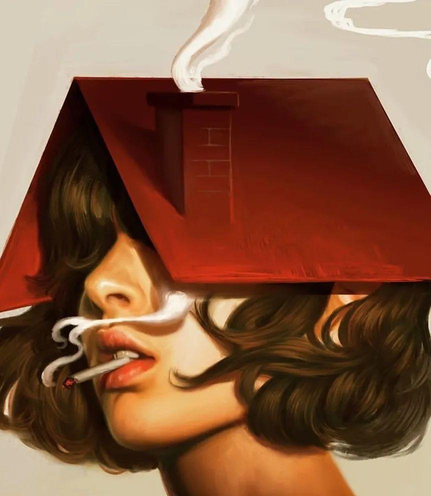 令人惊异的超现实主义肖像画,好有创意!插图47
