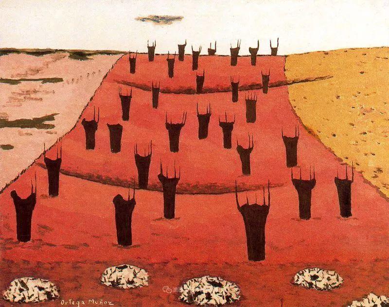 质朴的风景,干燥土地上重复着的孤木!插图7