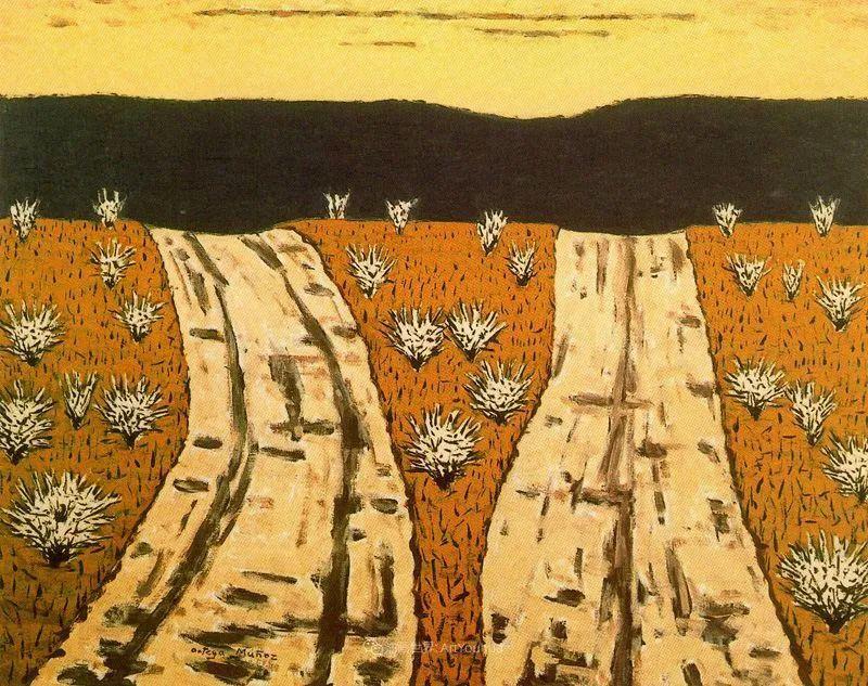 质朴的风景,干燥土地上重复着的孤木!插图29